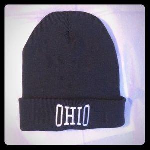 Ohio winter knit cap